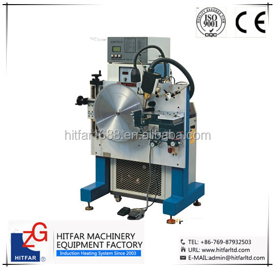 High Frequency Induction <strong>Welding</strong>/Brazing Machine for diamond tips/carbide saw blade <strong>welding</strong>