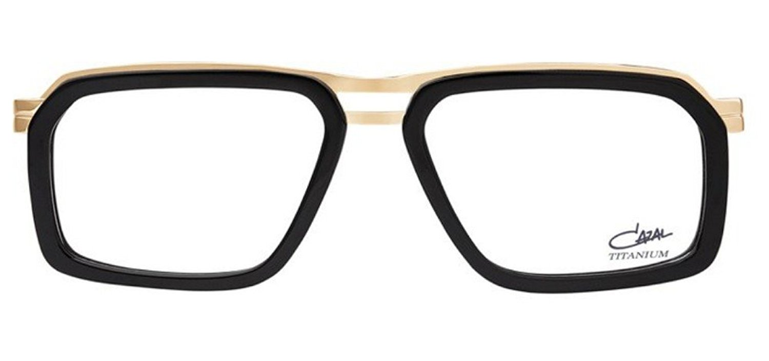 14852574f040 Get Quotations · Cazal 6014 Eyeglasses 001 Black-Gold Clear Lens 55 mm