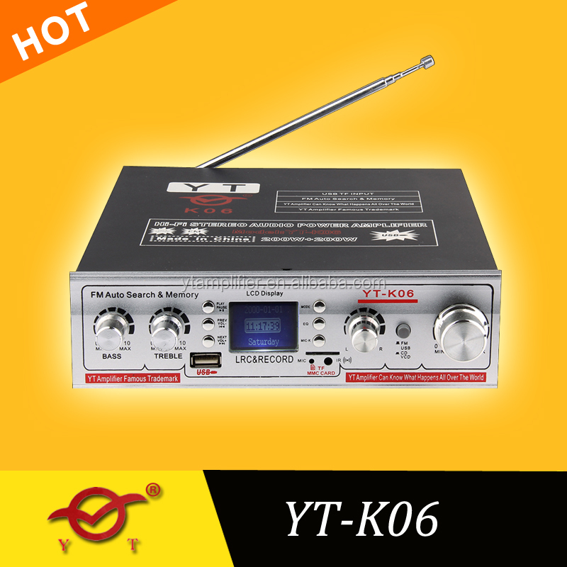 wifi home control amplifier system YT-K06 with USB/SD/FM
