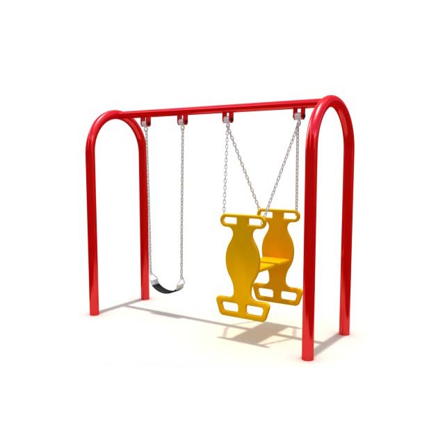 Commercial adult metal swing sets