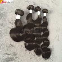 100% Cuticles Aligned Human Hair burmese body wave hair