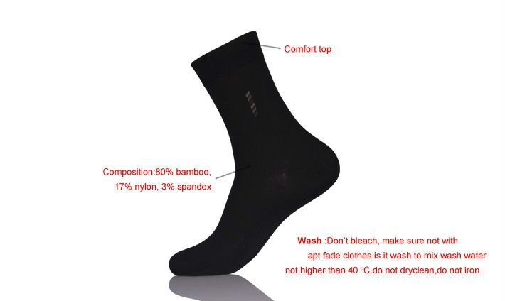 Men's Dress Bamboo Socks/Men Tartan Design Cotton Socks/Sox Combed Cotton Custom Man Socks