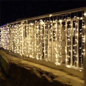 Liangliang Icicle Lights LED String Lights Christmas Decoration String Fairy Light Curtain
