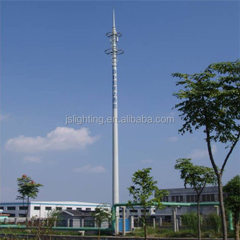 galvanized telescopic antenna mast manufacturer and communication tower