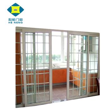 Commercial Double Glass Waterproof Upvc Sliding Door ...