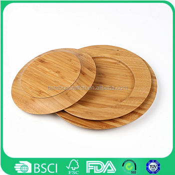 Eco friendly custom Bamboo Plates Restaurant dinner Table Plate Wooden  sc 1 st  Alibaba & Eco Friendly Custom Bamboo Plates Restaurant Dinner Table Plate ...