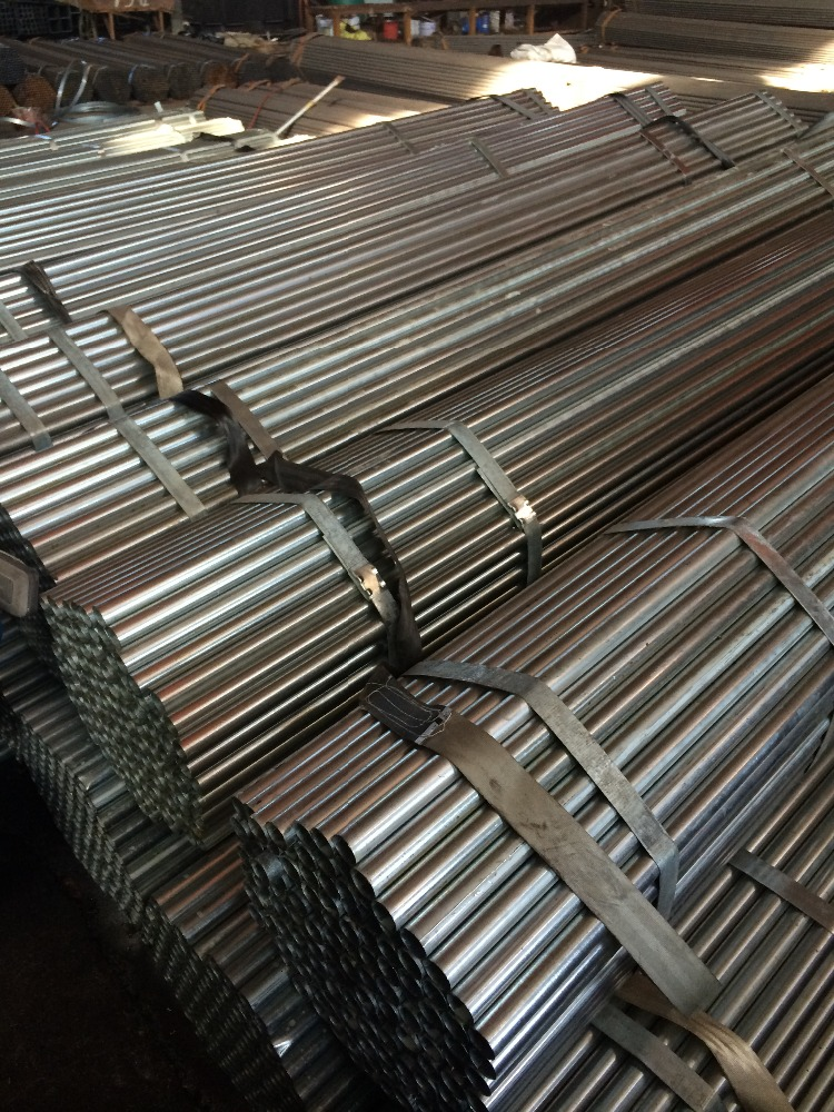 erw black sa 179 carbon steel pipe hot dipped galvanized steel pipe