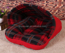 Soft Sponge Strawberry Pet Dog Cat Bed Houses Lovely Warm Doggy Kennel 3 Size 4 Colors Available