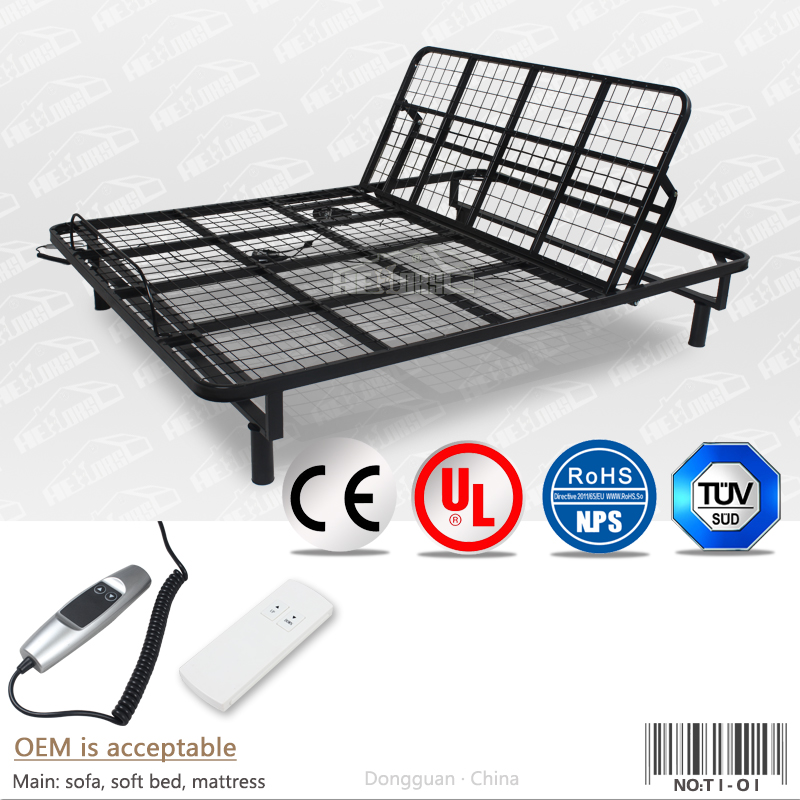 electric adjustable bed frame electric adjustable bed frame suppliers and manufacturers at alibabacom - Electric Adjustable Bed Frames