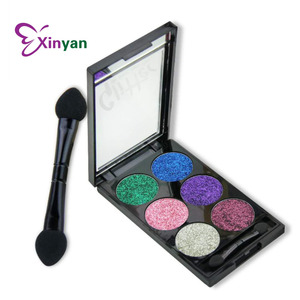 glitter eyeshadow with mirror shining eye shadow hot sale