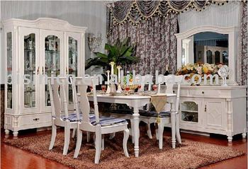 English style dining room set | Luxury dining room furniture | Country  style home furniture | villa furniture B49073, View Antique solid wood home  ...