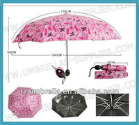 21inches Sun Protection UV Folding Umbrella