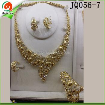 dubai gold jewelry set gold plated jewelry sets jewelry manufacturer