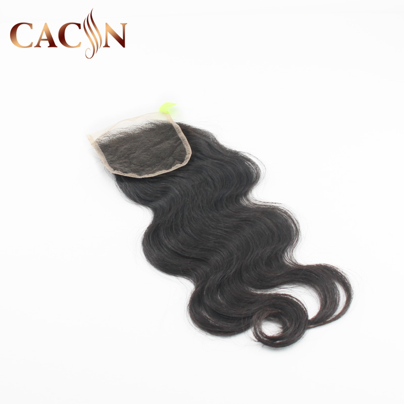 Wholesale body wave Brazilian human hair 4*4 Lace Closure Body Wave Style Human Hair