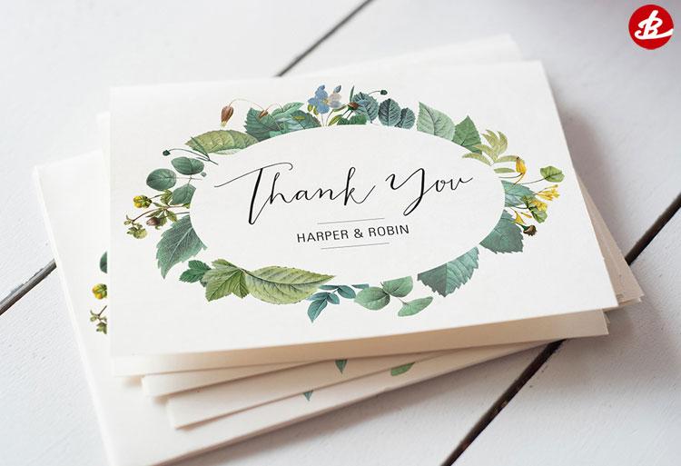 Открытки с благодарностями на свадьбе