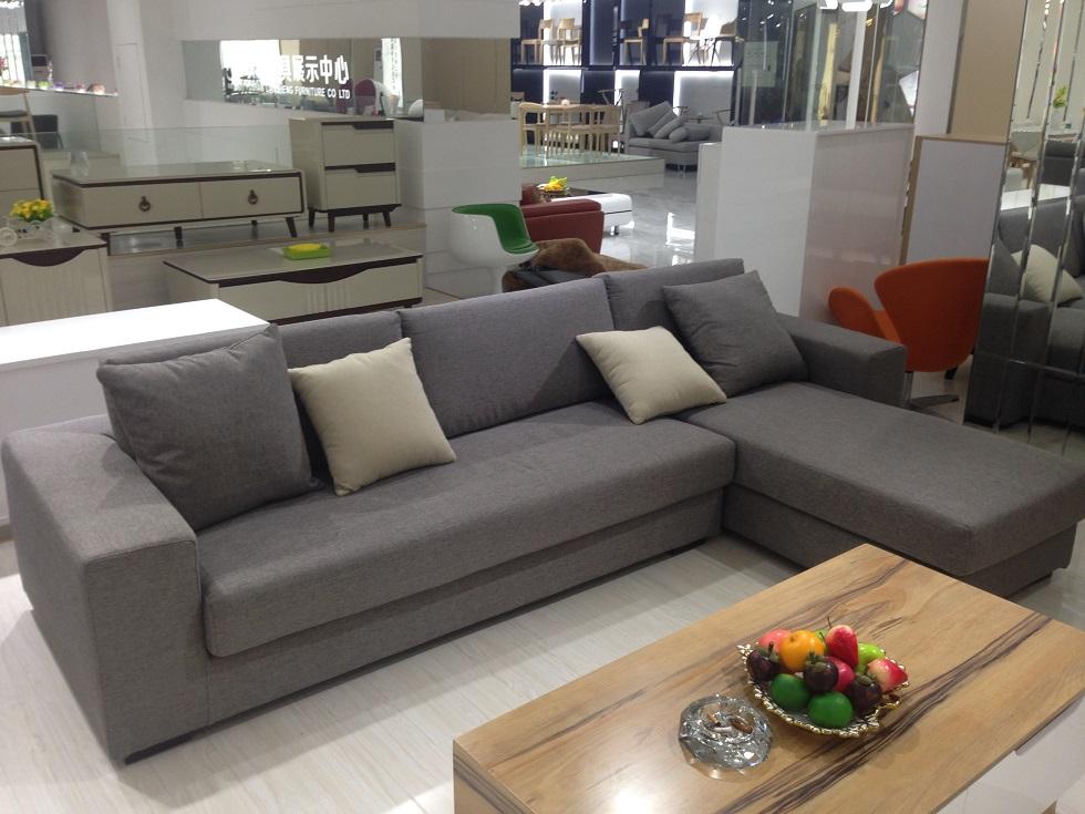 1 2 3 l posti divano ad angolo in tessuto set di divani salotto ... - Soggiorno Ad Angolo Moderno 2