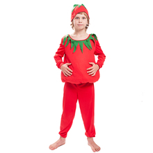OEM factory direct funny kids tomota groente fruit <span class=keywords><strong>mascotte</strong></span> <span class=keywords><strong>kostuums</strong></span> voor kinderen carnaval party cosplay