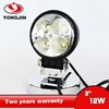 12W LED work light 4 pcs 3w epistar led working lamp led driving light