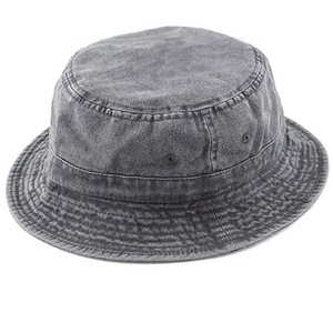 Summer Vacation Hat 100% Cotton Custom Washed Cotton Short Brim Bucket Hat