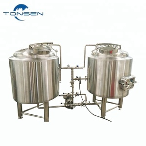 600L 5BBL home beer brewing equipment with brewhouse, frementers and control system, micro beer brewery equipment
