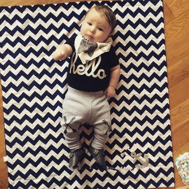 2-year Baby Boy T-shirt And Trousers European Boy Clothes Set In ...