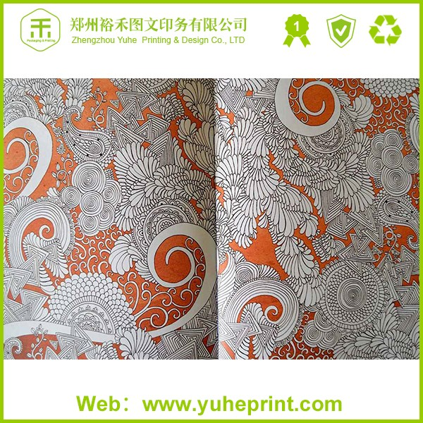Wholesale Top Model Coloring Books With Glossy Lamination Thick Paper Direct Factory Price