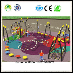 build your own playground adventure playsets metal swing sets playground equipment ( QX-18043B)