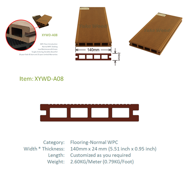 Vyokewood Wpc Japan Plastic Synthetic Wood Plank Flooring For Swimming Pool  - Buy Japan Wood Flooring,Plastic Wood Plank Flooring,Synthetic Wood