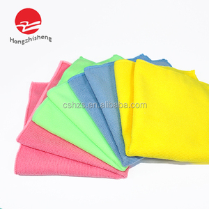 220~320gsm Customer's Size Pink Red Blue Etc Rayon Cleaning Cloth