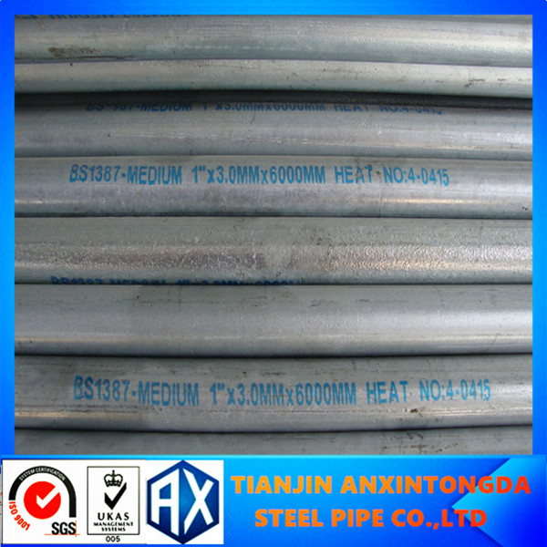 "1-1/2""/grs conduit/underground electrical conduit/rigid steel conduit used in National Security"