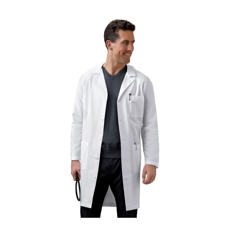 Doctor Gown 100% Cotton Or Polyester Cotton White Medical Lab Coat ...