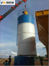 Luwei bolted cement silo for cement plant