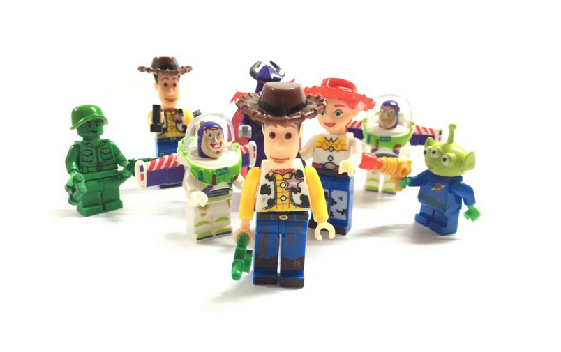 Toy Story 3 Buzz Lightyear Woody Jessie PVC Action Figures Toys Dolls Child Toys 8 pcs/set