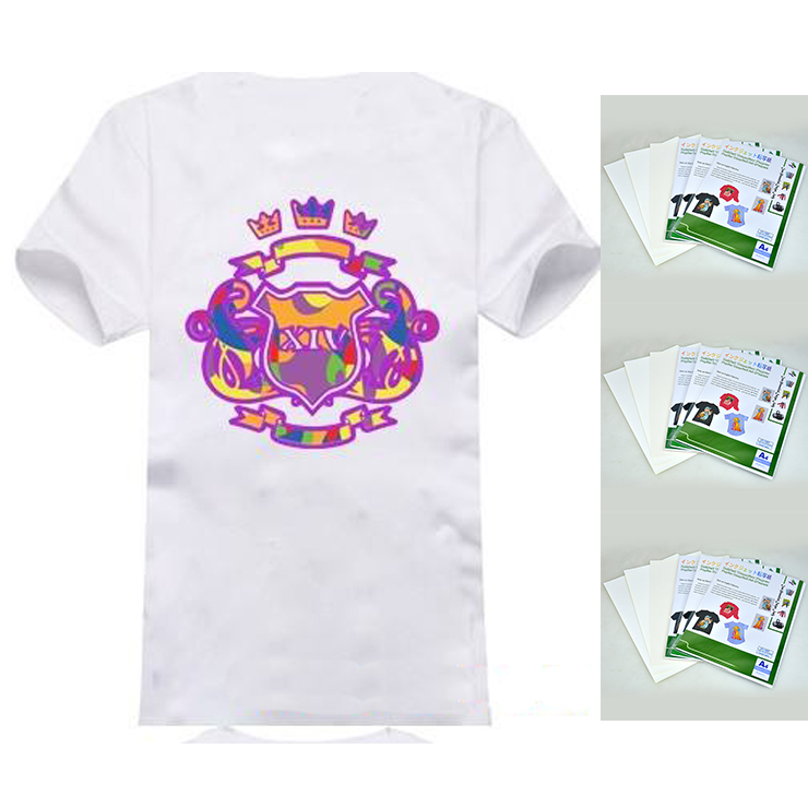 High Quality White Color Sublimation Heat Print A3 Iron-on T-shirt Transfer Paper