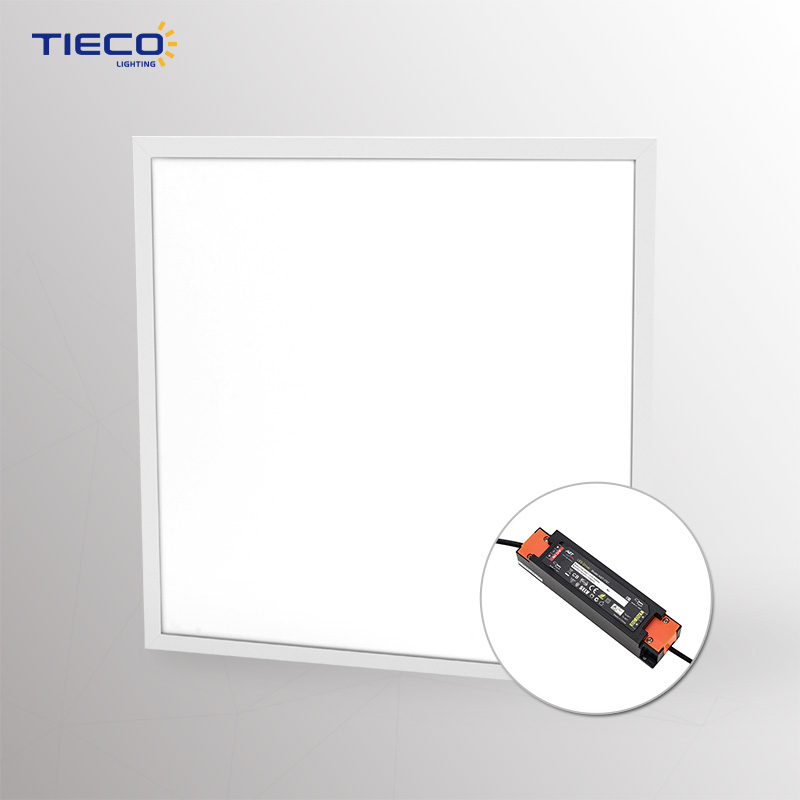 white frame for indoor decoration Home/Meeting room 100lm/w 600 600mm led panel light