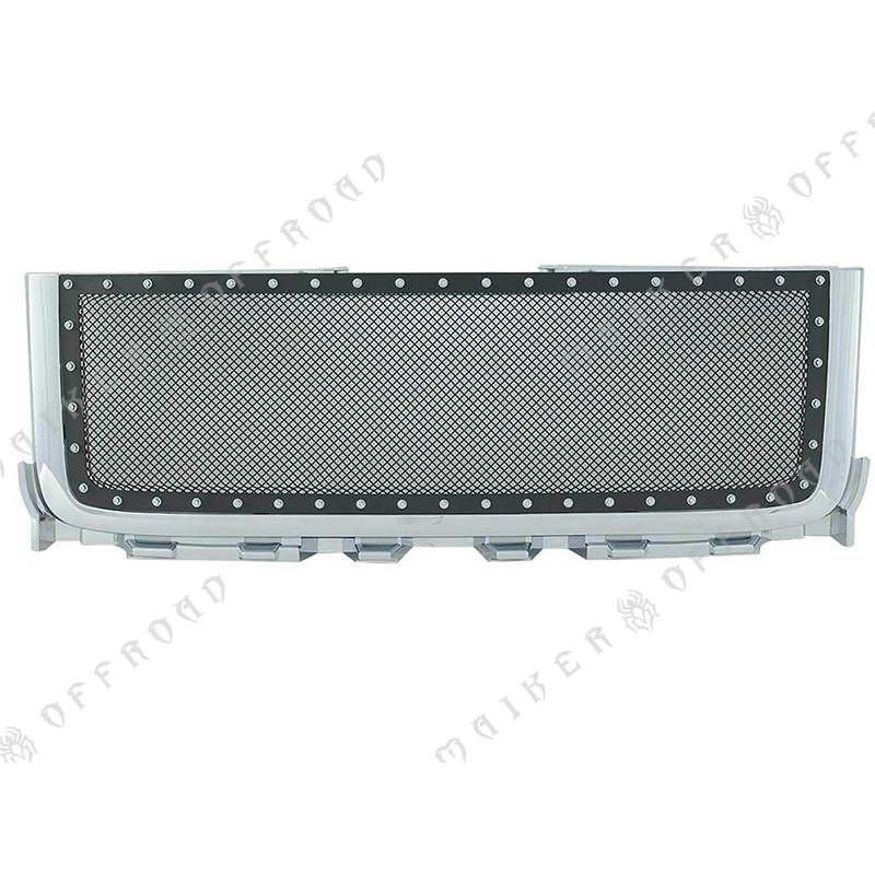 2011-2014 pickup chrome Grille For GMC Sierra 2500 3500 Body Kits Grille