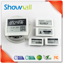 Shelf price dot matrix digital epaper esl label for supermarket