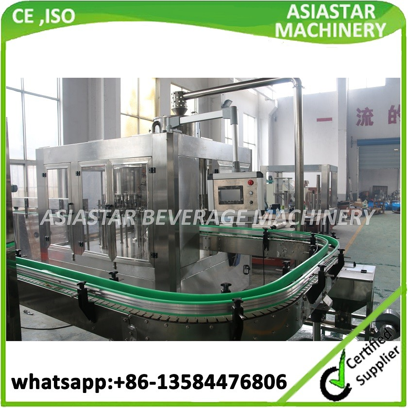 Fully Automatic Bottled water washing filling capping machine with CE,ISO