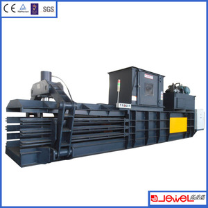 Hot selling Semi-Automatic Press scrap of waste paper Baler