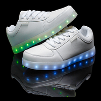 LED flashing shoes boys girls trainer luminous sneaker beauty children sports shoes flashing kids led lighting casual