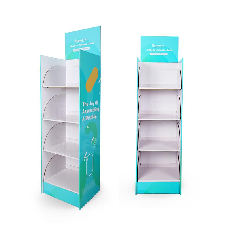 Venta Al Por Mayor Estantes De Carton Reciclado Compre
