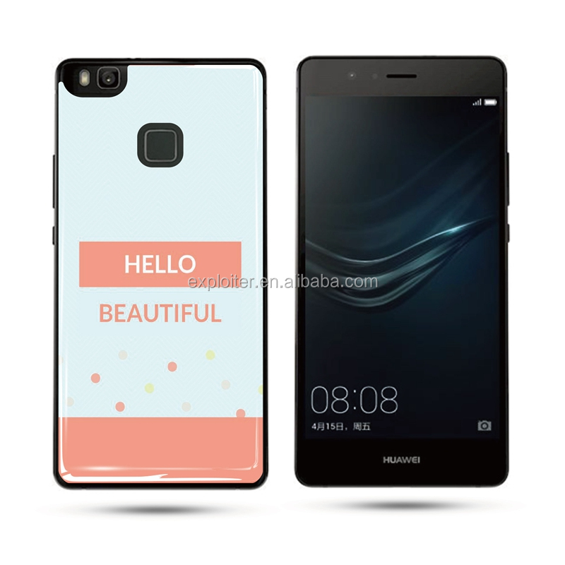 Hot new products epoxy mobilephone sticker for huawei p9 lite clear sticker