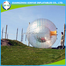 2015 inflatable type and nice design water walking ball bubble zorb