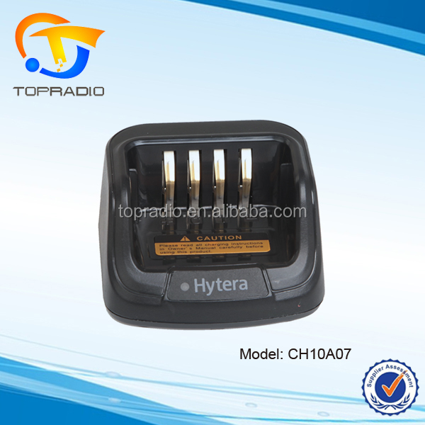 Single Unit Desktop Charger BL1502 Battery Charger PD782 PD782G Walki Talki Charger for HYT Hytera Two Way Radio