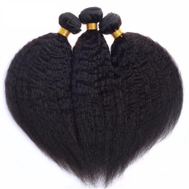 Wholesale perm yaki hair weave strong yaki straight 14 inch peruvian hair