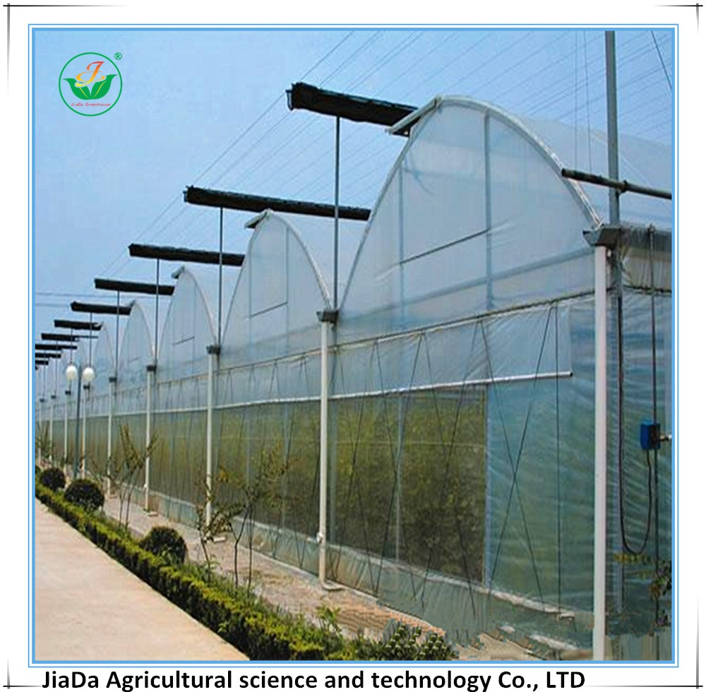 agricultural polyethylene film greenhouse shading system