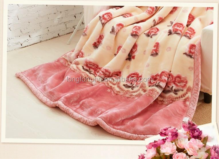 100 Polyester Mink Blanket Mink Blankets Wholesale Korean