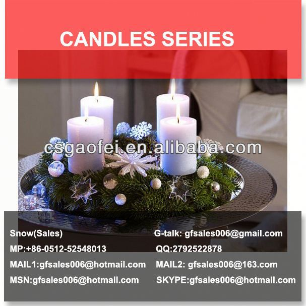 embedded led candles