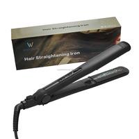 Pro aluminum/nano titanium/ tourmaline/ ceramic hair straightener Flat Iron