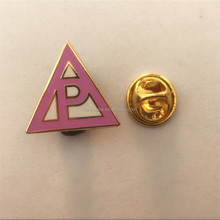 High Quality Metal Letter Lapel Pin